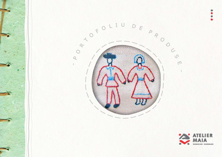 Produse de Crăciun, marca Atelier protejat MAIA