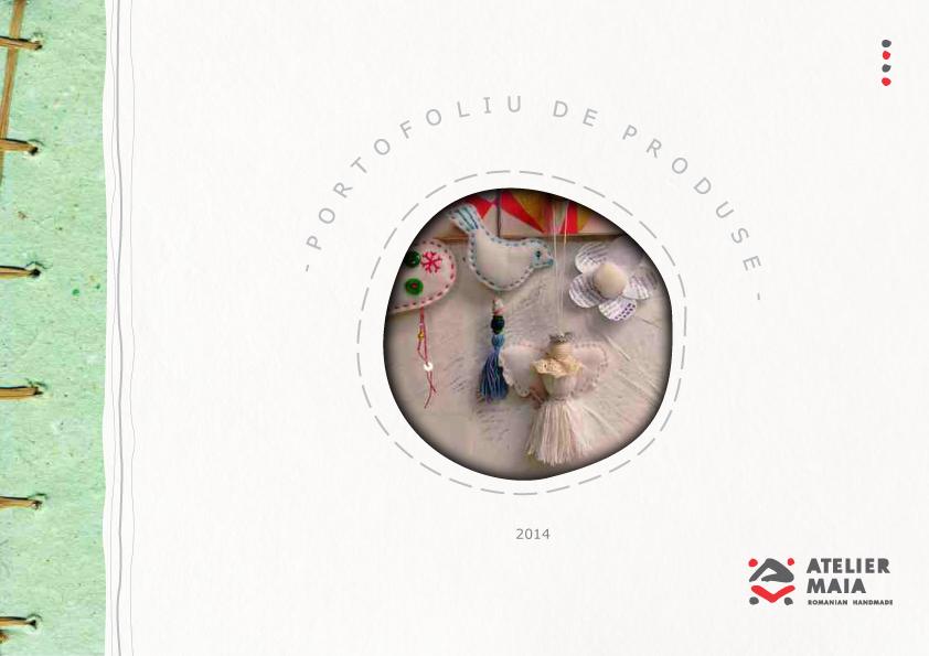 Catalog de produse pentru Crăciun @ Atelier Maia