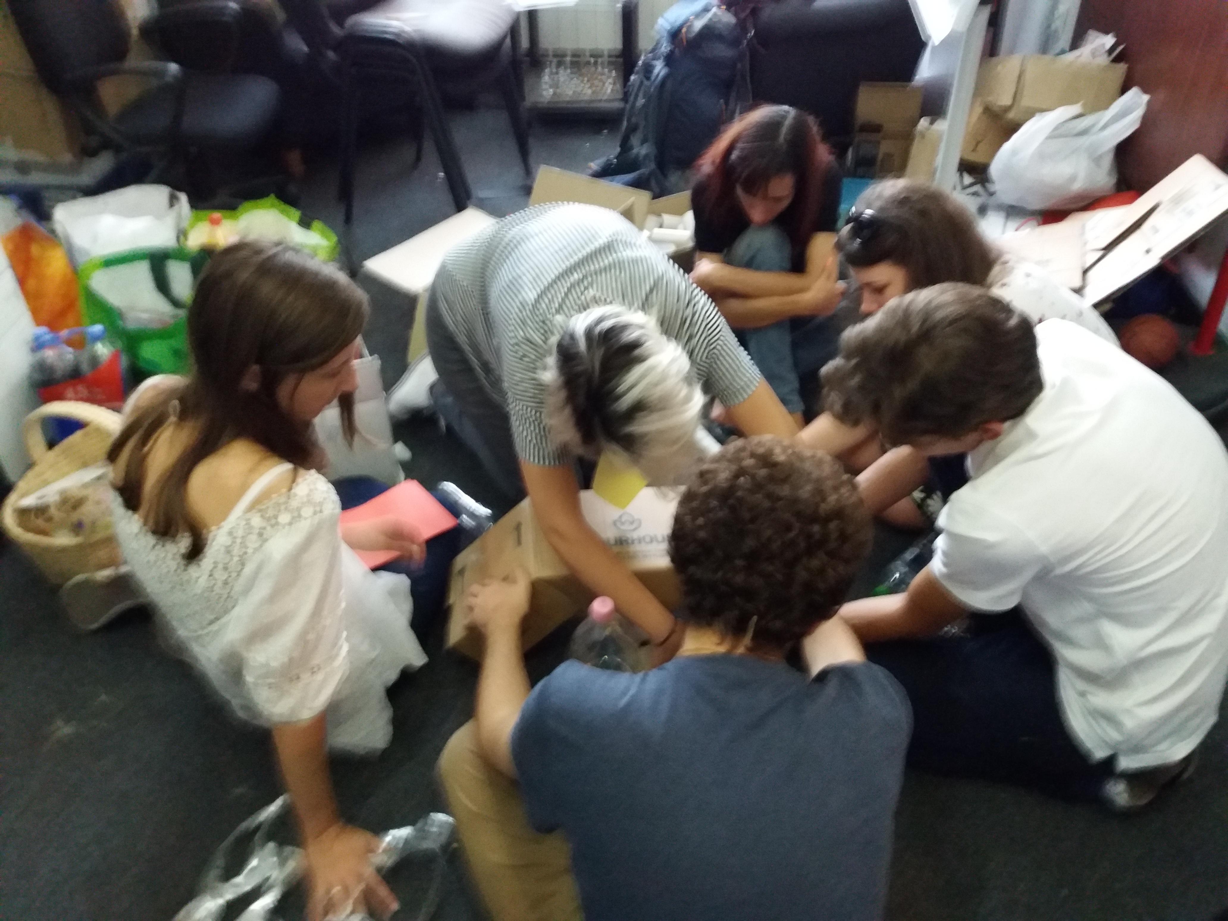 Ateliere pe tema voluntariatului @ Creez, îndrăznesc, dăruiesc!